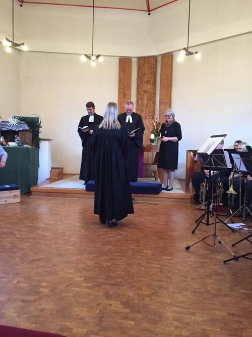Einführungsgottesdienst von Pfarrerin Katharina Zinnkann